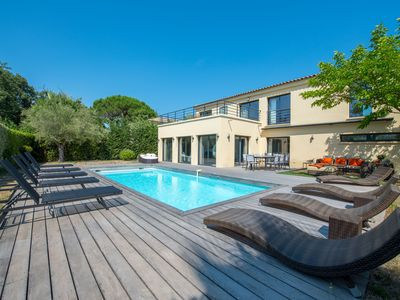 Photo for SAINT TROPEZ VILLA 4 BEDROOMS 300 M FROM THE BEACH