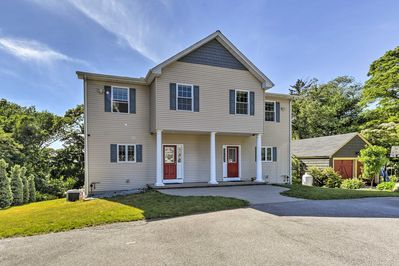 Explore URI from this 5-bed, 3-bath South Kingstown vacation rental home!