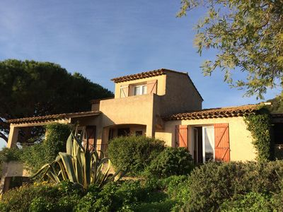 Photo for Villa 6 pers with garden, terraces, superb sea view,