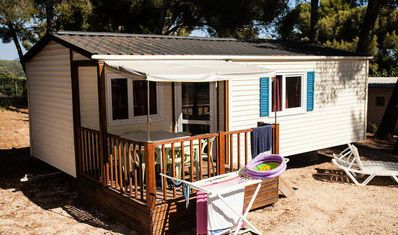 Photo for Camping Baie des Anges **** - Cottage 3 rooms 4/6 people