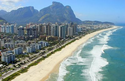 Photo for Barra da Tijuca Apart Sea & Mountain View and Beach Access
