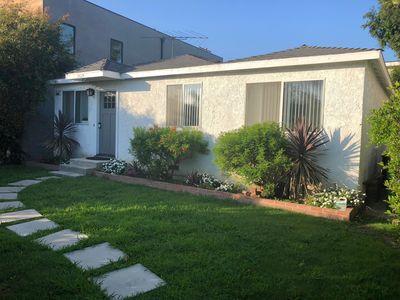 Photo for GreenWood Front Quiet & Private with garden