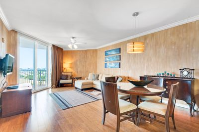 Dining to Living Room view