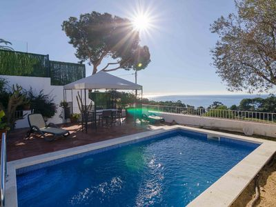 Photo for Club Villamar - Beautiful villa with a lot of privacy and incredible views of the sea and the vil...