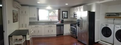 Photo for Private Guesthouse - full kitchen, washer & dryer
