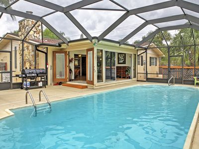 Photo for Jensen Beach House w/ Private Screened-In Pool!