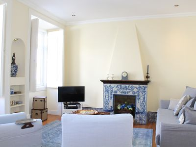 Photo for New !! Príncipe Real's, Lisbon BEST LOCATION- 18th Century Charming Appartment