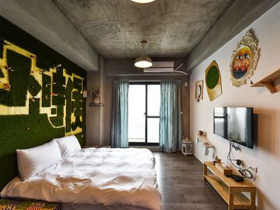 Photo for Quadruple room in Tainan  Themed Room Design Hostel