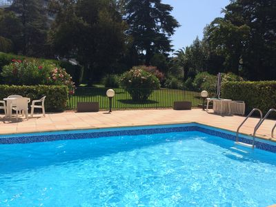 Photo for Cannes, sea 100m, pool, parking
