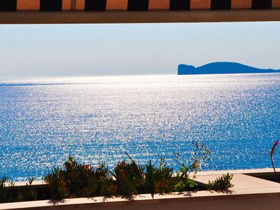 Stunning view on Alghero Bay and the Capocaccia Promontory