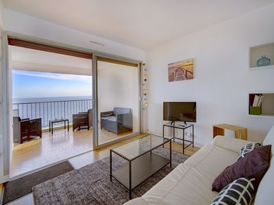 Photo for IMMOGROOM - Apartment by the sea - Terrace - Parking - CONGRESS /BEACHES