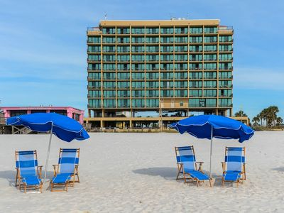 Come Enjoy the BEACH! Our Hotels are like a condo! Full Kitchen!