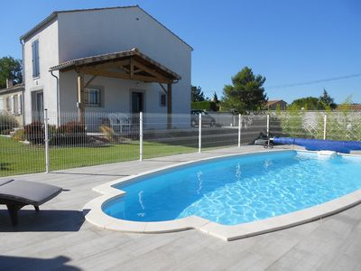 Photo for COTTAGE WITH SWIMMING POOL - 6-8 PEOPLE - 5 MINUTES FROM CARCASSONNE (11)