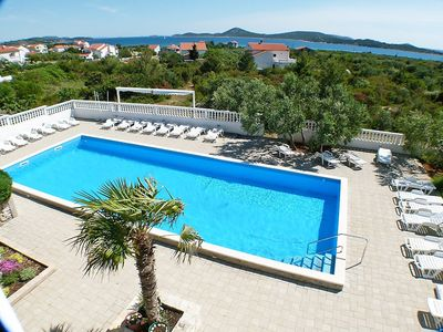 Photo for Apartment 524 m from the center of Vodice with Parking, Internet, Washing machine, Air conditioning (113633)