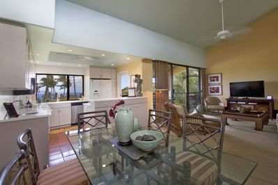 Professionally decorated with inviting decor