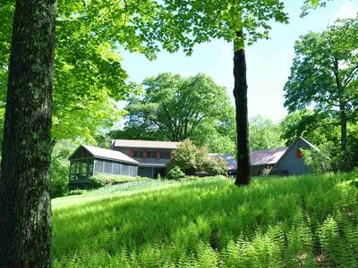 Photo for Breathtaking Vermont Dreamscape - Post and Beam Converted Farmhouse(TRYnBUY*)