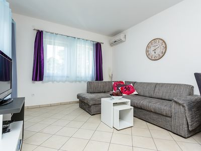 Photo for Superior Comfort One-Bedroom Apartment With Sea View - 15m from private beach