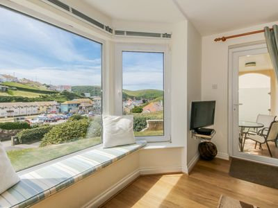 Photo for 3 Bed Apartment, Hope Cove with Coastal views
