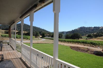The Best View on the property is from The Vineyard House