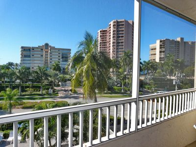 Photo for Breezy South End Condo w/ Deluxe Heated Pool & Short Walk to the Beach