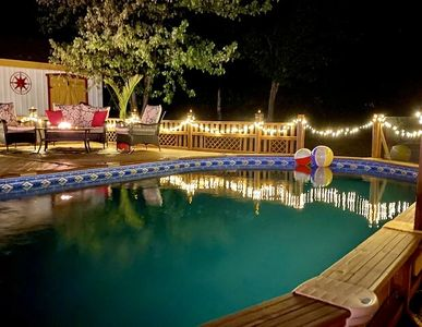 Photo for * SPECTACULAR view * 28 guests * Hot tub * pool* game room* 300000 f2 field