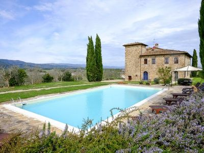 Photo for Bucine Villa, Sleeps 18 with Pool, Air Con and WiFi