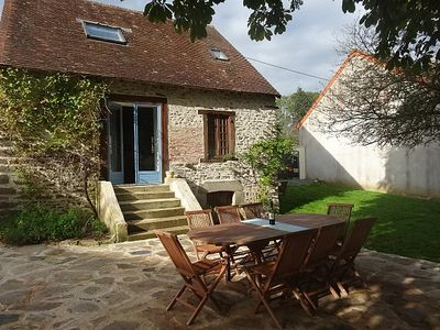 Photo for Detached Stone Cottage, Large Garden, Above Ground Pool with Decking,& Free Wifi