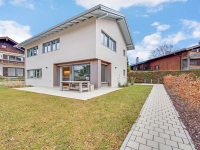 Photo for Modern Holiday Home Seebruck close to Chiemsee with Wi-Fi, Garden & Terrace; Parking Available, Pets Allowed upon Request