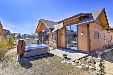 Adventure awaits at this mountain-view vacation rental home in Fraser, Colorado!