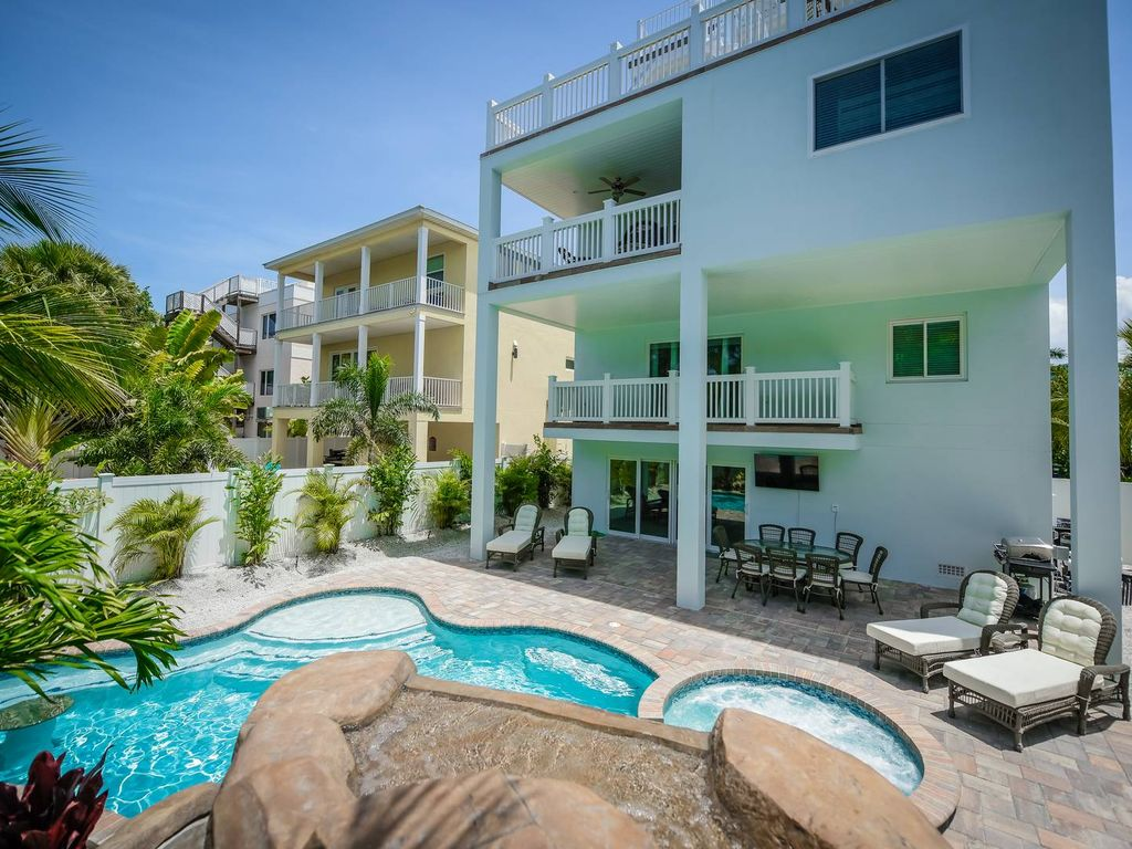 Siesta Key Luxury Gulf Access With Dock R Vrbo