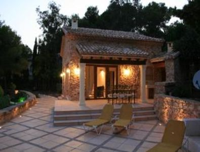 Photo for Holiday house Moraira for 4 persons with 2 bedrooms - Holiday house