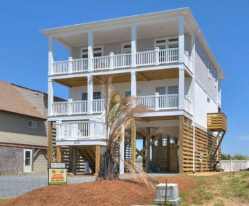 Photo for BRAND NEW HOME-5 BR/3.5 BA with POOL-Short Walk to the BEACH-Sleeps 12