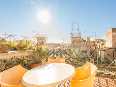 Photo for Navona Apartment Panoramic Terrace