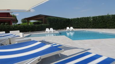 Photo for Venice 30 minutes app. in country villa with swimming pool in garden of 10,000 m