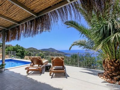 Photo for JADE AMOUR Romantic Retreat for 2 - Own Private Pool, Terrace and Sea Views