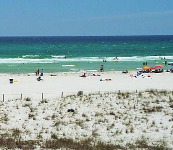 Photo for Dunes of Panama!  Free Beach Service!!  Gulf Front 2 Bedroom !!!!
