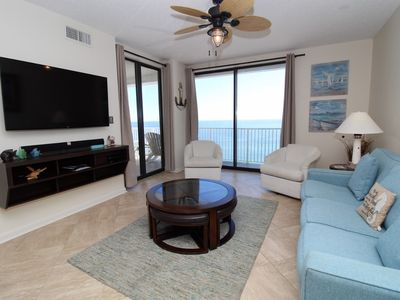 Photo for Shoalwater 1204-Beach Front Views from Large Terrace with Luxurious Interior!