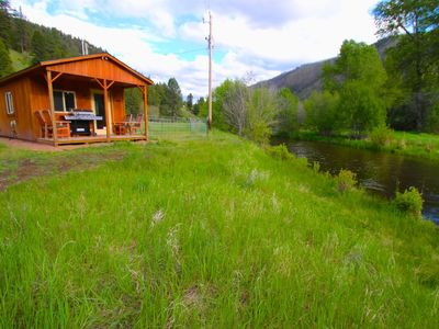 Photo for Rock Creek Frontage Cabin Rental
