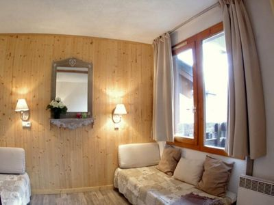 Photo for Apartment Valmorel, studio flat, 4 persons
