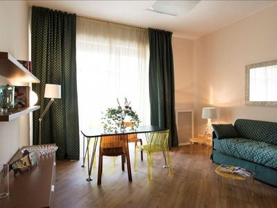 Photo for Spacious Wittgens apartment in Centro Storico with WiFi, integrated air conditioning, balcony & lif…
