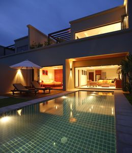 Photo for Luxury 2 bedroom villa with private pool close to Bang Tao beach