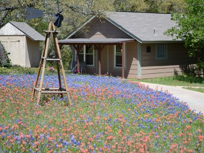 Photo for Misty Bend Cabin in the Hill Country