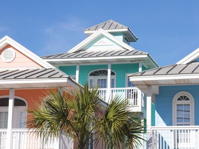 Photo for GULF VIEW COTTAGE with Beach Gear, Steps to Pier Park and Beach Access!!