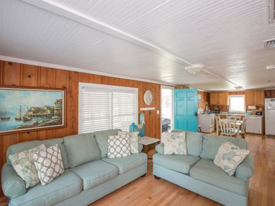Photo for Cozy Corner 3 BR sleeps 6 walking distance to beach and Center Street!
