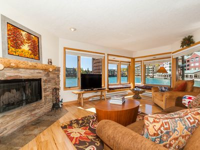 Photo for Updated Condo in Lakeside Village, Panoramic Lake Views, New King Bed