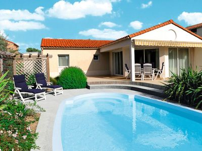 Photo for Vacation home Ferienhaus mit Pool (CHU200) in Chateau d'Olonne - 6 persons, 3 bedrooms