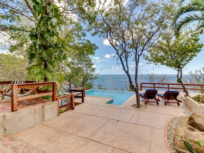 Photo for Long-term discounts: Oceanview home with private pool - walk to beach & dining!