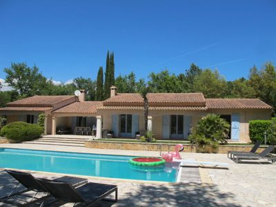 Photo for La Verrerie Holiday Home, Sleeps 8 with Pool, Air Con and Free WiFi