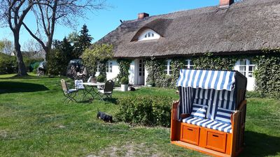Photo for Holiday on idyllic three-sided farm - in close proximity to the sea u. Bodden