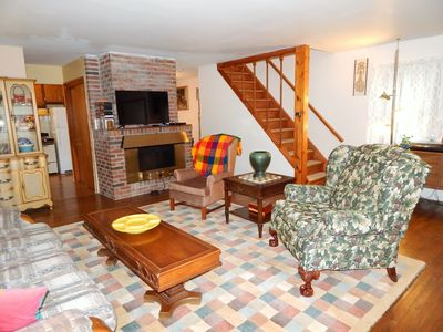 Photo for Mid century modern catskill home set in the south of catskill park.